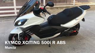 6. Kymco xciting 500i R ABS