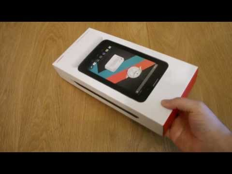 Vodafone Smart Tab 3 Unboxing