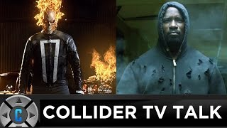 First Ghost Rider In Agents of SHIELD Teaser Trailer, Luke Cage Clip - Collider TV Talk by Collider