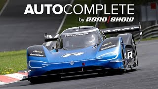 AutoComplete: VW set a new 6:05 Nürburgring lap record for electric vehicles by Roadshow