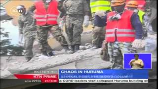 Several People Injured As Police Teargas Opposition CORD Leaders On Way To Collapsed Huruma Building