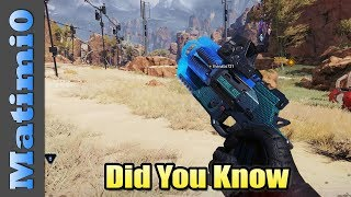 Did You Know - Apex Legends