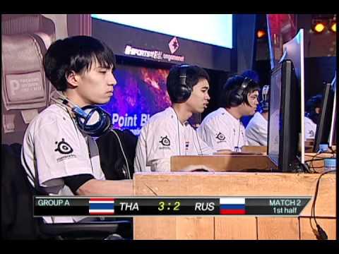1st PBIC:  Russia vs. Thailand.