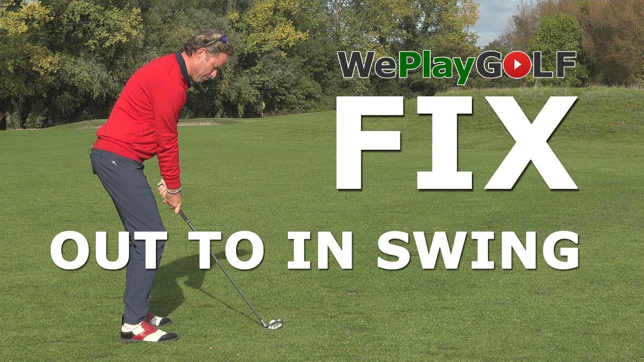 How to fix your OUT to IN golf swing and get rid of that slice?