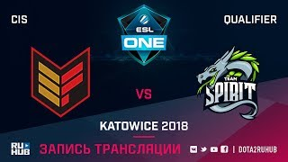 Effect vs Spirit, ESL One Katowice CIS, game 2 [Maelstorm, GodHunt]