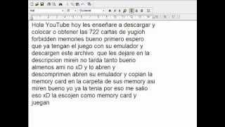 Video como obtener las 722 cartas de yugioh forbidden memories MP3, 3GP, MP4, WEBM, AVI, FLV Juli 2018