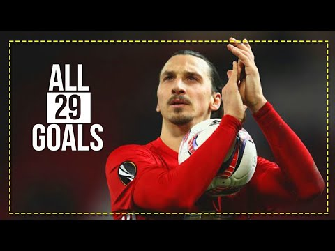 """GOOD BYE ZLATAN"" - All 29 Goals For Manchester United 2016-2018 