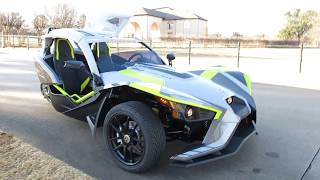 7. 2018 Polaris Slingshot SLR, bilstein suspension, electric power steering, hard top