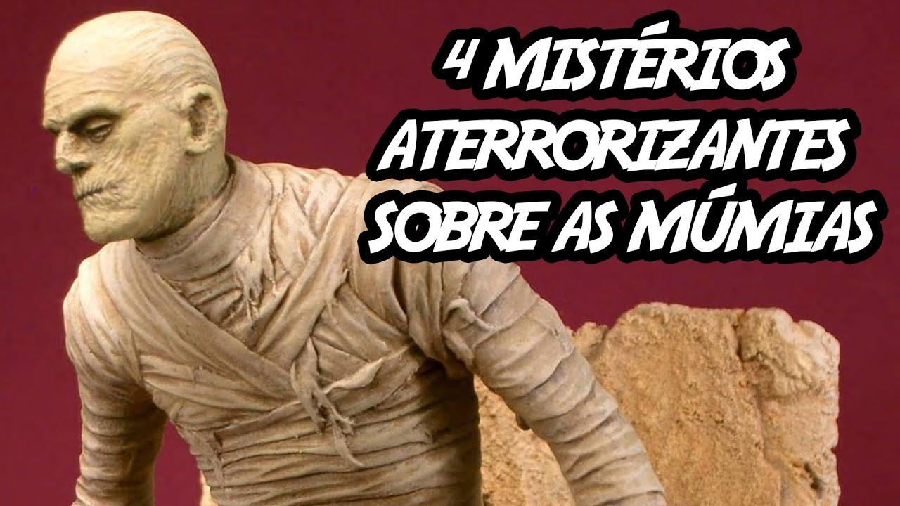 4 mistérios aterrorizantes sobre as múmias