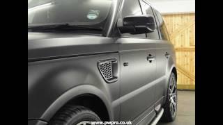 Range Rover Sport Vinyl Wrap
