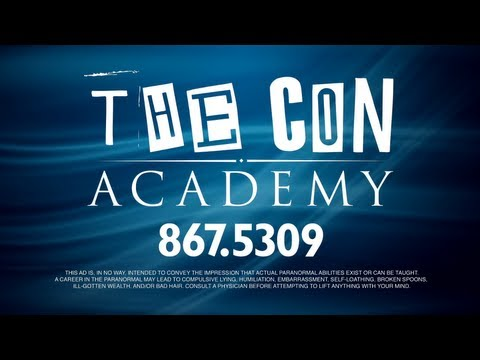 Academy - This is volume 1 of The Con Academy videos—another resource in the Skeptics Society's arsenal of Skepticism 101 for teaching critical thinking and promoting ...
