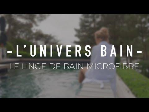 Blue Bubble - Le linge de bain en microfibre