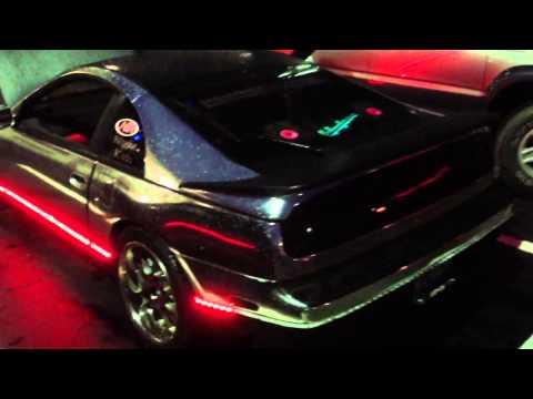 Chrome Fairlady Z32TT LEDs light Nopi 2013 Car Show Vid#2