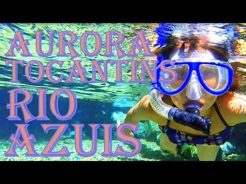 Rio Azuis - Aurora do Tocantins - TO - 02/2016