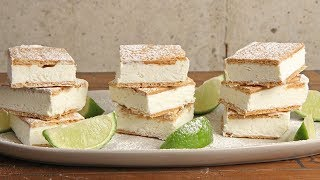 Key Lime Pie Ice Cream Bars   Episode 1253 by Laura in the Kitchen