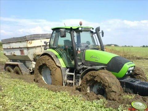 Wpadki i wypadki maszyn rolniczych