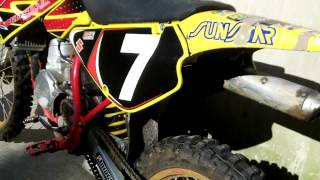 4. 2003 Suzuki rm 85cc Review and start up!