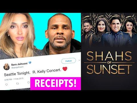 R. KELLY'S EX ON SHAHS OF SUNSET SEASON 8: WHO IS SARA JEHOONI?