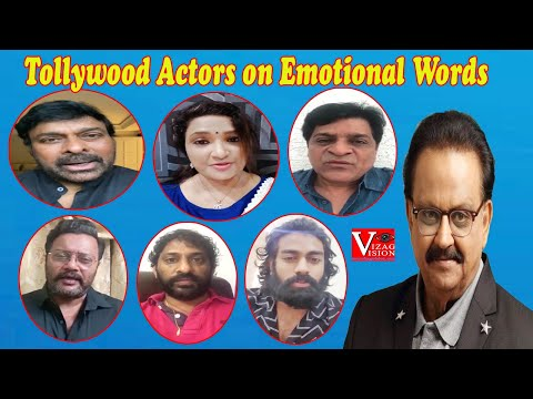 Tollywood Singers Actors on Emotional Great Words on SP BalaSubrahmanyam Vizag Vision