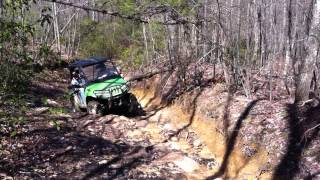 7. Richards under Control with his Arctic Cat prowler 650