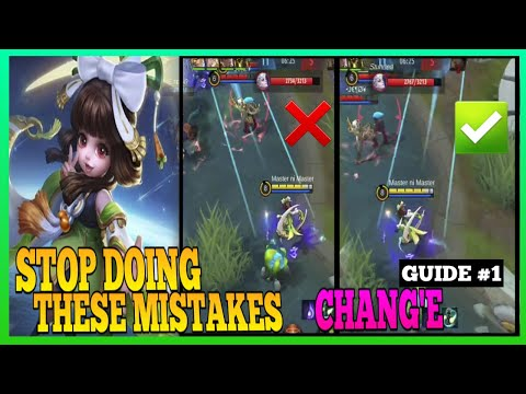 Chang'e Guide 1   Why You Can't Burst Using Chang'e   Master the Basics   Chang'e Gameplay   MLBB