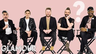 Video Queer Eye's Cast Tells Us How They Met | Glamour MP3, 3GP, MP4, WEBM, AVI, FLV Mei 2019