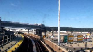 Video on map. Cabview of the entire Skytrain from Jamaica
