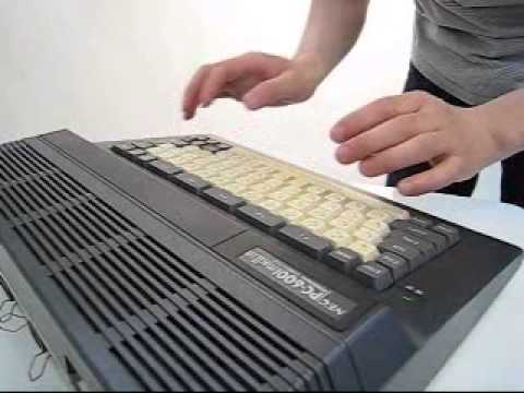 NEC PC-6001mk2SRをしゃべらせてみた。(voice test of PC-6001mk2SR)