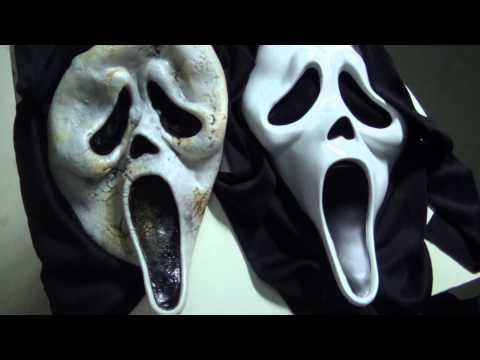 Unboxing masque Scream Zombie