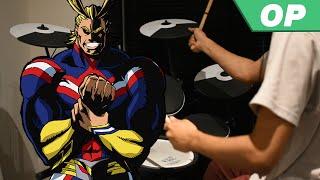 Boku no Hero Academia Season 3 OP -【ODD FUTURE】by UVERworld - Drum Cover
