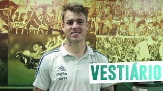 Dudu, Róger Guedes e Mayke trocaram uma ideia com a TV Palmeiras/FAM logo após a goleada sobre o Vitória, ainda no vestiário do Allianz Parque.---------------Assine o Premiere e assista a todos os jogos do Palmeiras AO VIVO, em qualquer lugar, na TV ou no Premiere Play: http://bit.ly/1myhErs E se você já assina, participe da pesquisa e diga que seu time é o Palmeiras: http://bit.ly/2ad5HJo------------------------Seja Sócio Avanti, com desconto em ingressos e privilégios exclusivos! Clique aqui: http://bit.ly/1uKJsbA