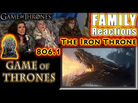 Game of Thrones   806   The Iron Throne   FAMILY Reactions   Part 1