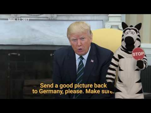 Trump refusing handsha