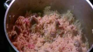 Somali Recipe for Rice with Suqaar Meat