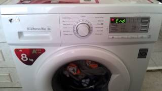 How singing LG F14B8TDA washing machine. Ending song