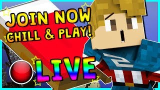 • BEDWARS MANIA WITH SUBSCRIBERS!   MINECRAFT LIVESTREAM   COME HANG OUT!