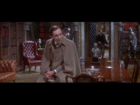 "Christopher Lee in ""The Private Life of Sherlock Holmes"""