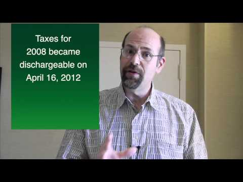 Bankruptcy: Can Income Taxes Be Discharged? (Part 1) Maryland Bankruptcy Attorney