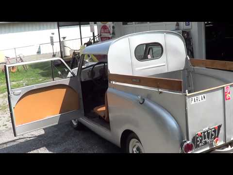 crosley - A Friend has a very nice 1946 Crosley Round Side Pick Up...Crosley set out to build the least expensive car in America...very interesting part of American Au...