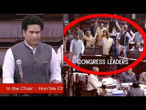 Download VIDEO : Congress Leaders Did Not Allow Sachin Tendulkar To Speak In the Rajya Sabha...21 Dec 2017 HD Mp4 3GP Video and MP3