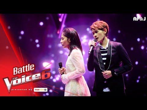 แพรว VS แนน - ปลิว - Battle - The Voice Thailand 6 - 4 Feb 2018