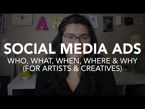 Social Media Advertising for Artists, Arts Organizations & Creative Businesses