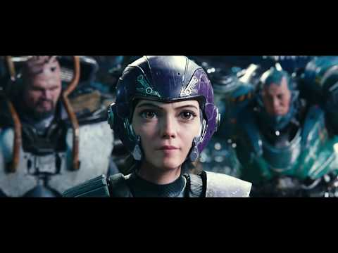 Alita Battle Angel: Motorball Scene