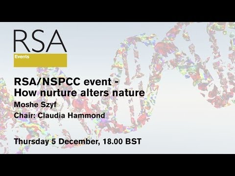 event - This RSA event will be live streamed on Thursday 5 December, 1800 BST in London Professor Moshe Szyf's trailblazing research in epigenetics highlights the im...