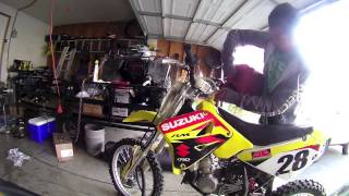 7. 2003 SUZUKI RM85L Review and Start up
