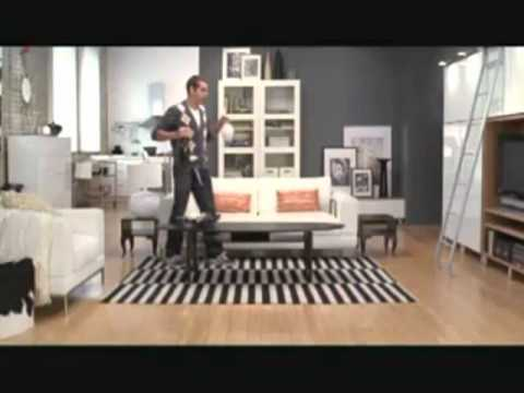 Awesome Dance IKEA commercial with Robert Muraine (Audio Edited)