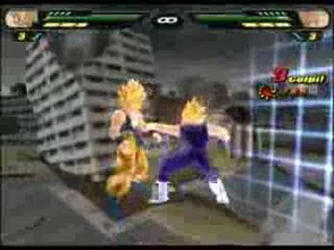 Dragon ball Tenkaichi 2: Drkheart vs Sabò