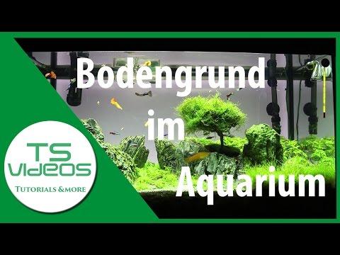 Bodengrund im Aquarium - TSVideos
