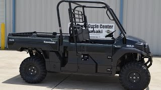 6. SALE $10,999:  2016 Kawasaki Mule Pro FX EPS Super Black Overview and Review