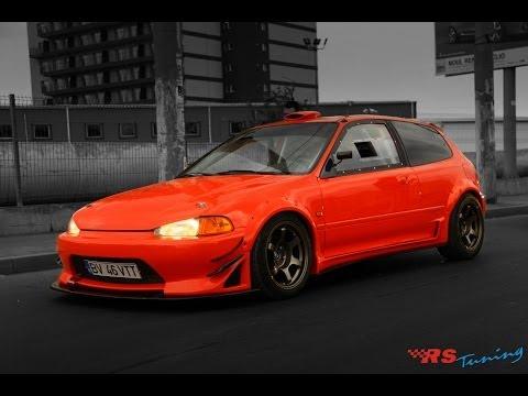Honda civic hatchback 7 тюнинг снимок